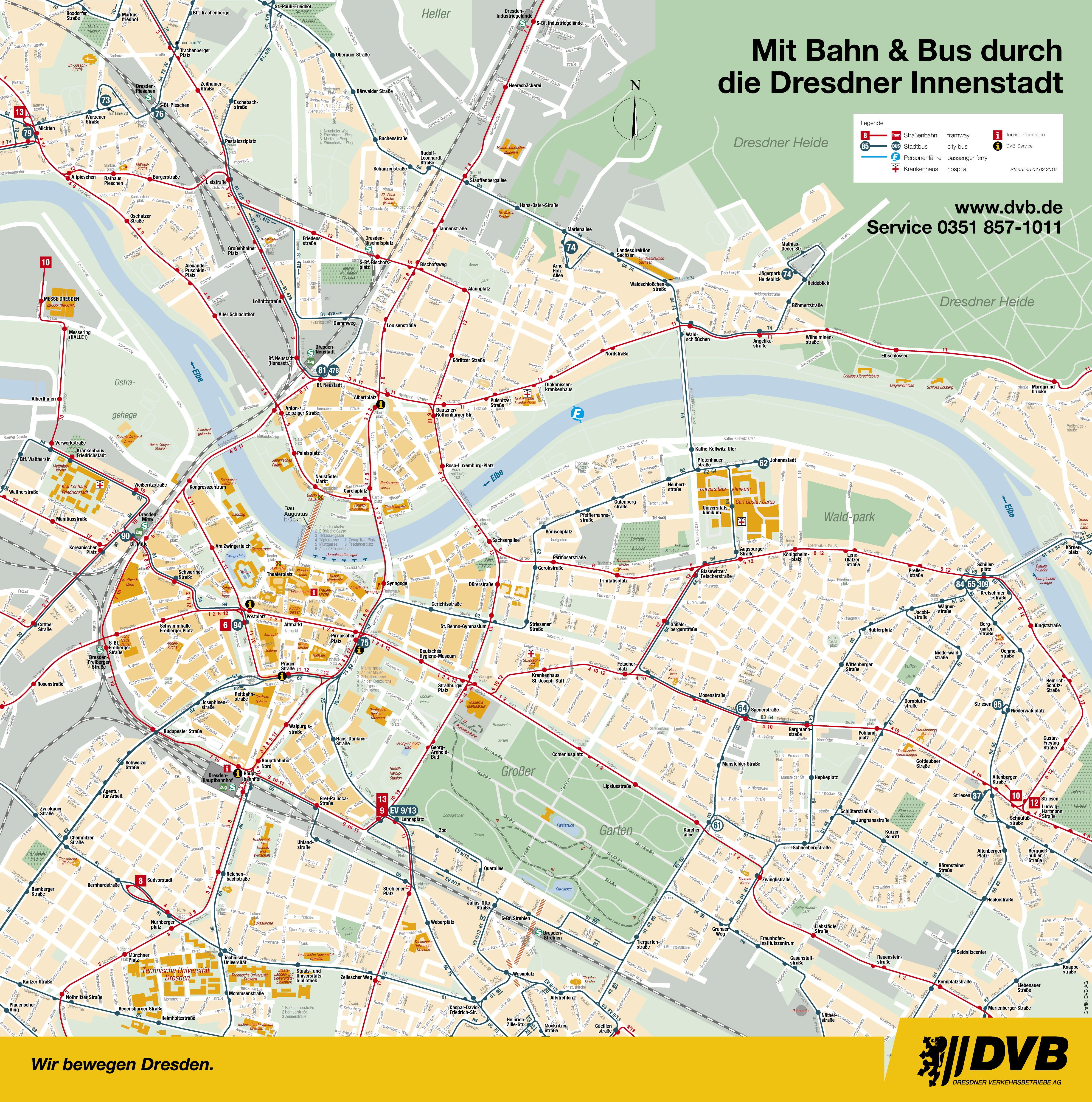 Stadtplan Wiesbaden Mit Haltestellen