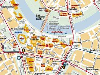 Stadtkarten P R Dvb Dresdner Verkehrsbetriebe Ag