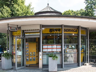 Photo of a service point at Dresden Albertplatz