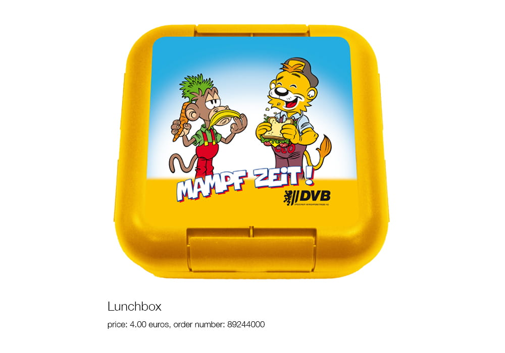 Lunch box, price: 4.00 euros, order number: 89244000