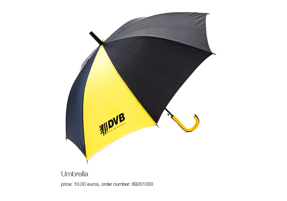 Umbrella, price: 10.00 euros, order number: 89201000