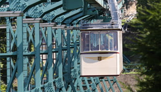 Photo of Schwebebahn in motion
