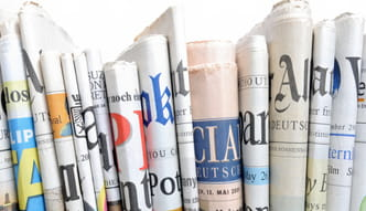 Photo of various daily newspapers